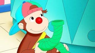 Curious George Curious George Clowns Around Kids Cartoon  Kids Movies Videos for Kids