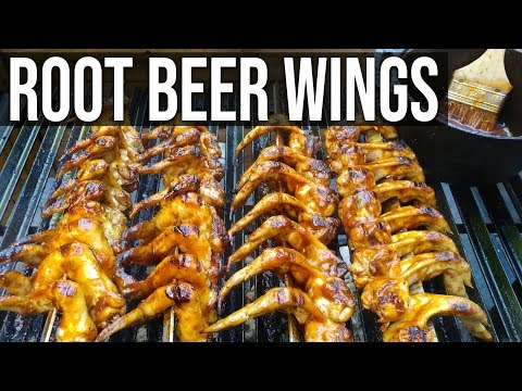 Root Beer Wings at the Pit