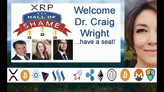 XRP STRONG, Craig Wright new member XRP Hall Of Shame, SEC Market Sentiment Tool
