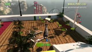 Goat Simulator:HOW TO GET THE BRING A TOWEL ACHIEVEMENT!!!!