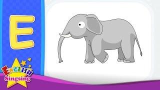 E Phonics Song - Thư điện tử - Alphabet bài hát | Tìm hiểu âm học cho trẻ em