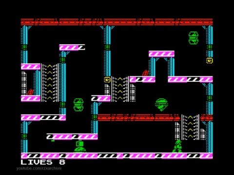 Aeon Walkthrough, ZX Spectrum