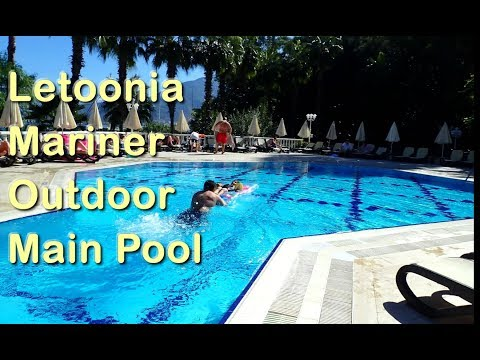 What Letoonia's Main Outdoor Swimming Pool is Like - Club Hotel Resort, Fethiye Jolly Tur