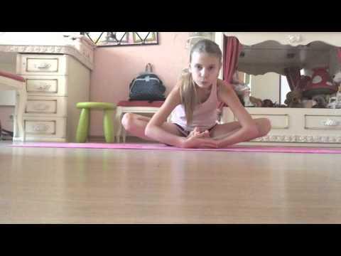 Видео урок: как сесть на шпагат