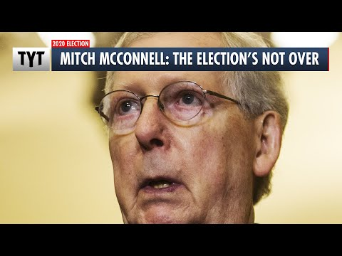 Mitch McConnell Refuses To Accept Election Results During Senate Floor Speech
