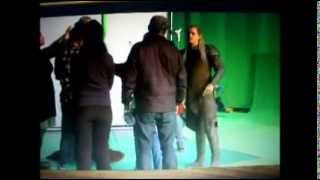 "Behind the scene ""The Hobbit"" (Legolas shot)"