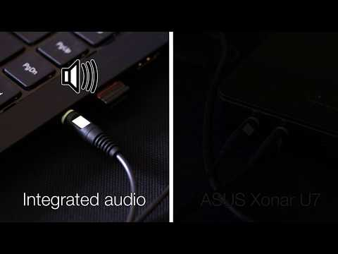 ASUS Xonar U7 amplifier test