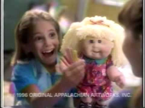 Snack Time Cabbage Patch Kid by Mattel