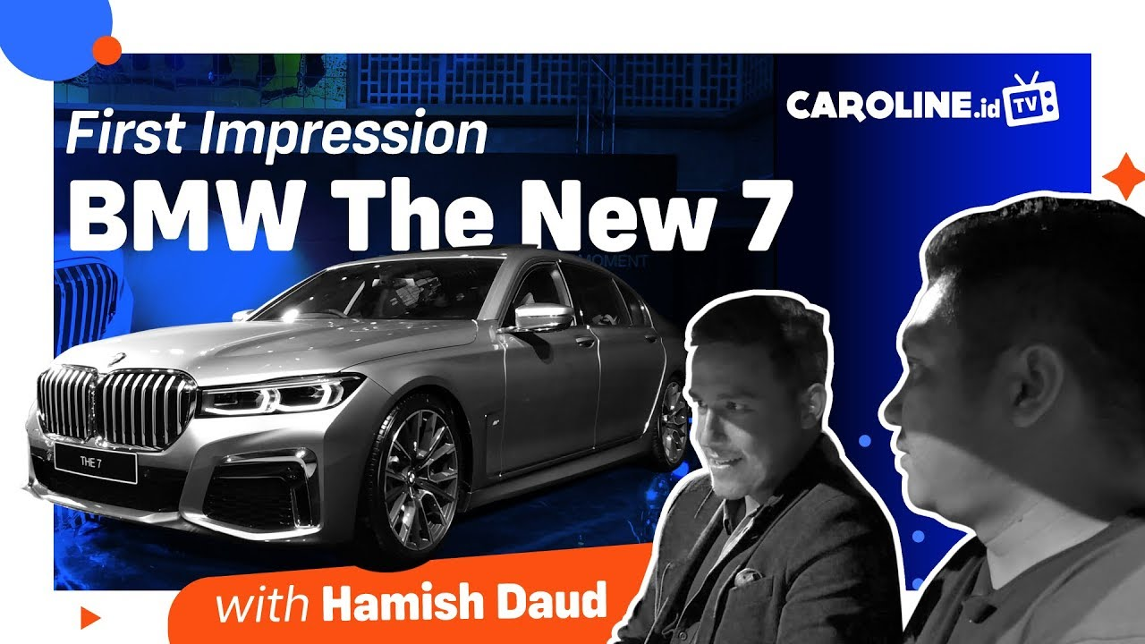 BMW Seri 7 Baru Indonesia 2019 | First Impression CAROLINE.id TV
