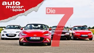 30 Jahre Mazda MX5: 7 Fakten, die jeder Roadster-Fan wissen sollte | auto motor und sport