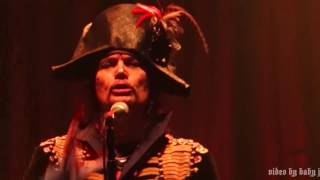 Adam Ant-JOLLY ROGER [Adam & The Ants]-Brooklyn Bowl-Las Vegas-NV-2.10.17-Kings Of The Wild Frontier