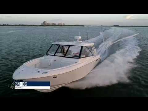Everglades 340 Dual Console video