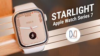 Apple Watch Series 7 Unboxing: Starlight the new Silver or Gold?