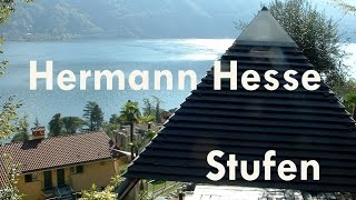 preview picture of video 'Hermann Hesse Stufen im Parco San Marco am Lago di Lugano'
