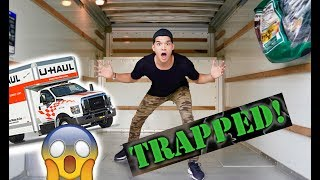 Trapped In A Moving Truck! *I'M SO SAD*