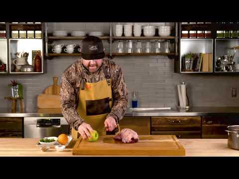 Roast Goose with Apple Maple Glaze w/ Chad Belding Step 6 | Traeger Grills