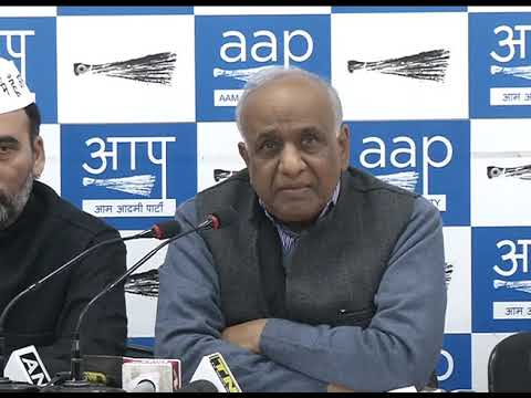 Aap's Reaction on General Budget 2018