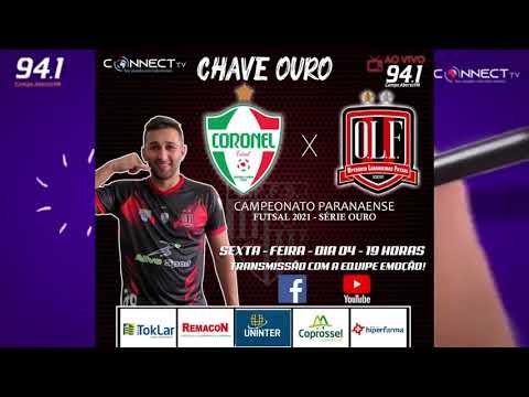 Chamada Operário  x  Coronel pelo Campeonato Paranaense Chave Ouro.