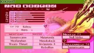 Persona 3 Portable - 100% P.121-Tri-Spread-Orpheus Telos Fusion.[4 Element Or Just Thunder Reign]