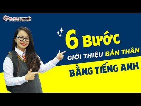 6 BƯỚC TỰ GIỚI THIỆU BẢN THÂN BẰNG TIẾNG ANH | MS HOA GIAO TIẾP