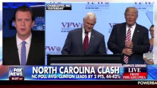 """Phillip discusses Clinton's """"change maker"""" comment & Swing State Wins   FOX & Friends First"""