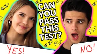 High School Trivia | VS w/ Brent & Lexi Rivera