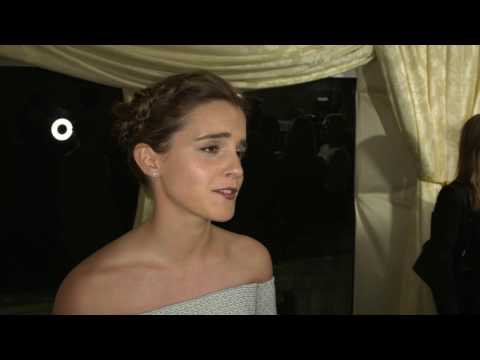 Beauty and the Beast Emma Watson UK Premiere Interview | MTW