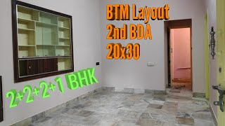 4 Units Independent Building Sale in BTM Layout 2nd Stage Metro Station