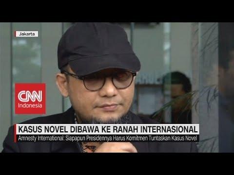 Tak Kunjung Jelas, Kasus Novel Baswedan Dibawa ke Ranah Internasional