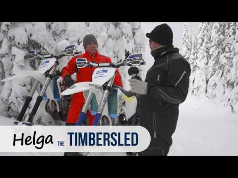 Vernon Snow MX 2017 ~ Timbersled vs Yeti E01 ~ On The Trail