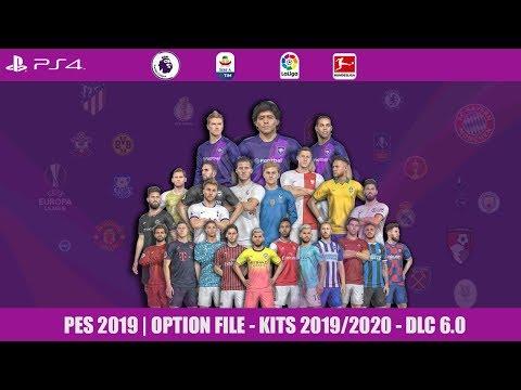 PES 2019 CLASSIC LEGENDS LEAGUE, 20 TEAM OPTION FILE PS4 + DOWNLOAD