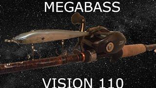 BEST Jerk Bait That I Have Ever Used! (Megabass Vision 110 Review)
