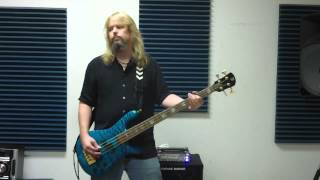 Ace Frehley Speedin' Back To My Baby Bass Cover