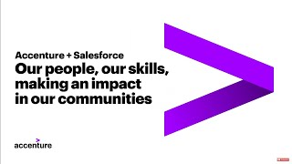 Accenture + Salesforce: Making an Impact