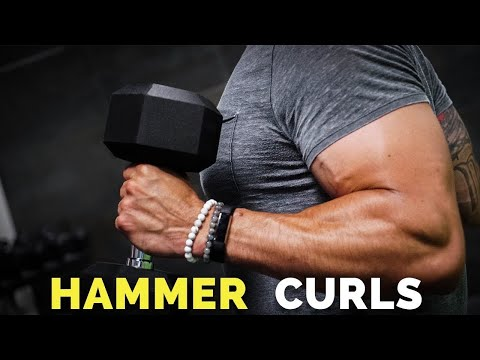 How To Do Hammer Curls for HUGE Biceps (BICEP GROWTH!)