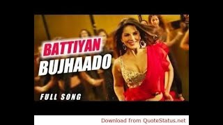 Battiyan Bujha Do Full Song Mashup Nawazuddin Sunny L Jyotica