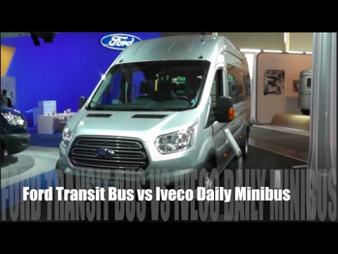 Ford Transit Minibus Фургон класса M - тест-драйв 4