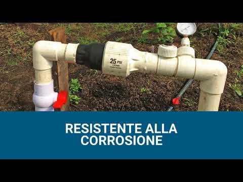 PRU - Regolatore di pressione ad altissima portata