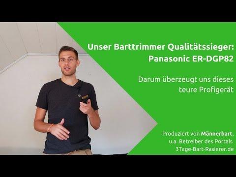 Panasonic ER-DGP82 im Barttrimmer Test: So schlägt sich das Profigerät