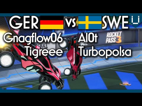 Germany vs Sweden | 2v2 Rocket League