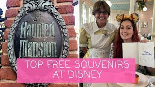 Top FREE & MEMORABLE Souvenirs At DISNEY PARKS | April 2018