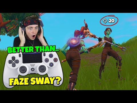 i found a ghoul trooper on controller who is better than faze sway? (amazed)