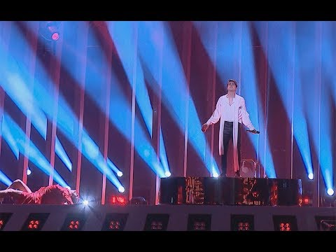 ALEKSEEV. Репетиция номера. Eurovision 2018. Без комментариев 03.05.2018