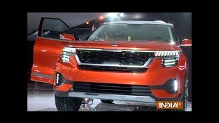 Auto Expo 2018: Kia Motors makes a debut with the new SP concept car