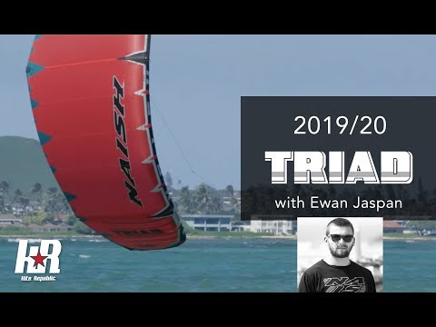 Naish Triad 2019/20 with Ewan Jaspan