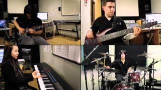 Dream Theater - Hell's Kitchen (Instrumental) - Split-Screen Covers