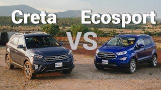Ford Ecosport VS Hyundai Creta - Frente a frente   Autocosmos
