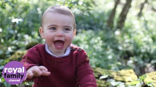 New Adorable Photos Released For Prince Louis First Birthday