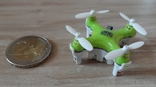 NEW DHD D1 Ultra Nano Micro RC Quadrocopter / Kleinster der Welt / World smallest Quadcopter