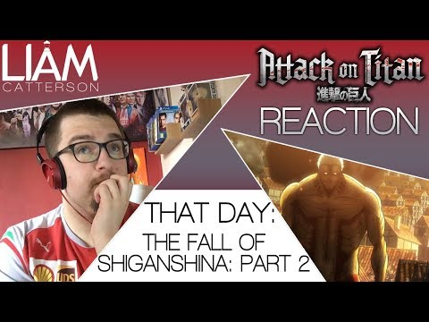 Attack on Titan 1x02: That Day: The Fall of Shiganshina, Part 2 [SUB] Reaction